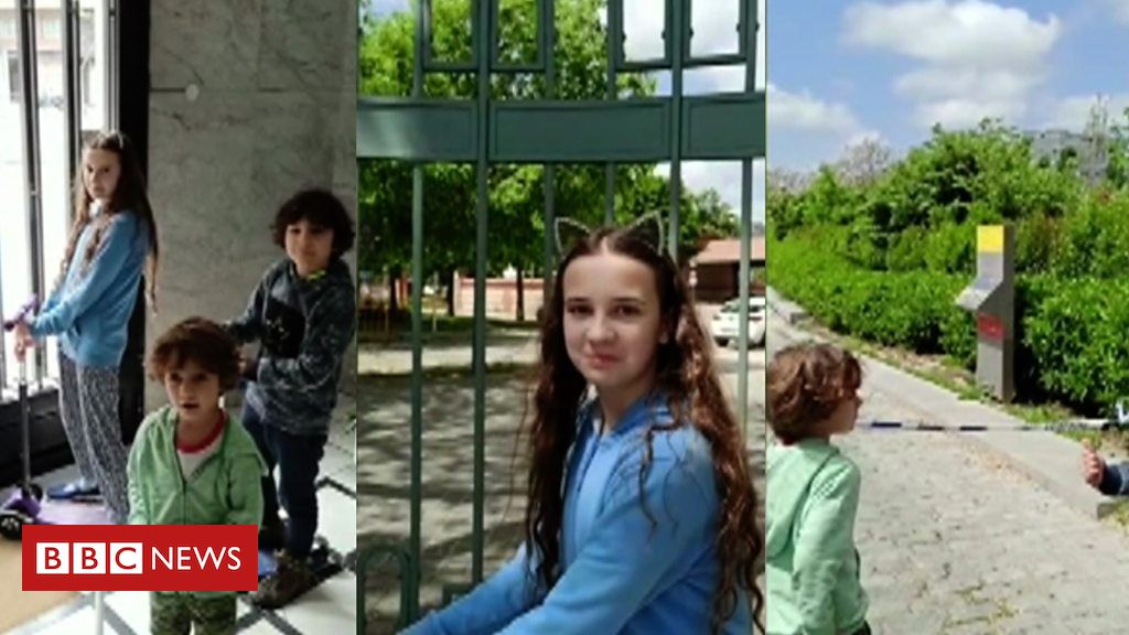 Photo of Spain's children allowed to run free again