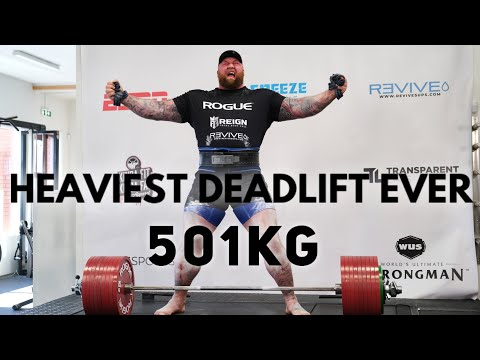 Photo of Hafthor Bjornsson: Game of Thrones actor breaks 501kg deadlift record