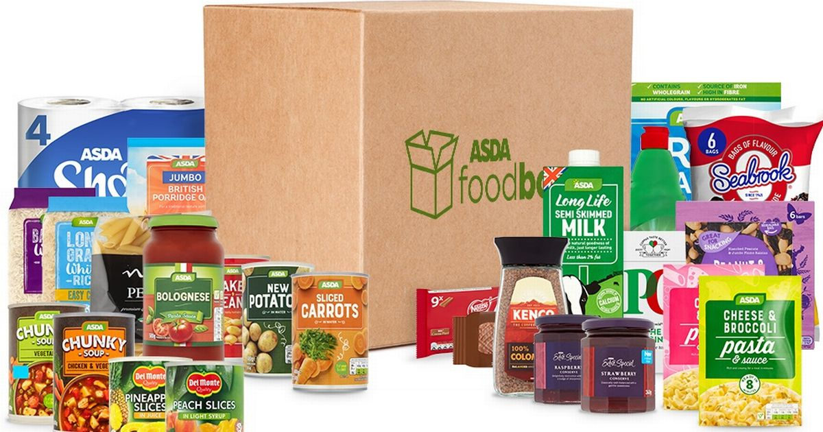 Photo of Asda launches best value supermarket groceries box for UK delivery you can get in two days