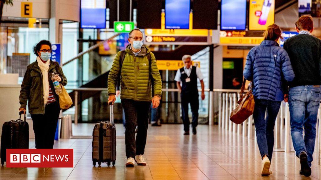 Photo of Coronavirus: Air passengers told to wear face masks