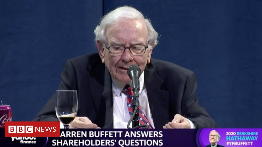 Photo of Warren Buffett's company Berkshire Hathaway sells US airline shares