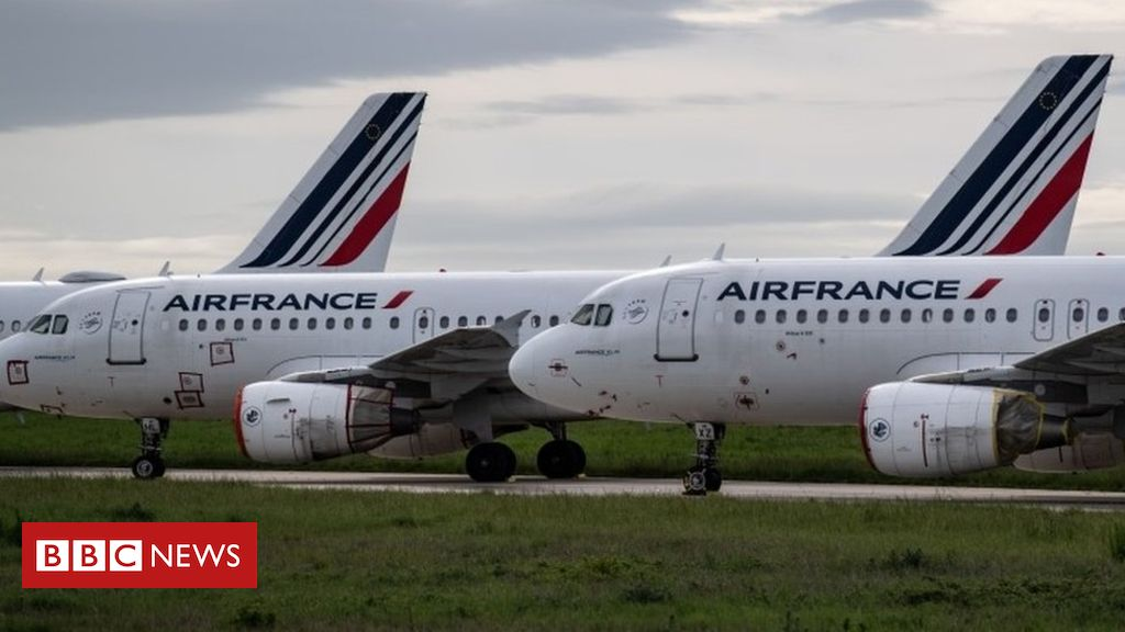 Photo of Coronavirus aid: Air France 'must cut domestic flights to get state loan'