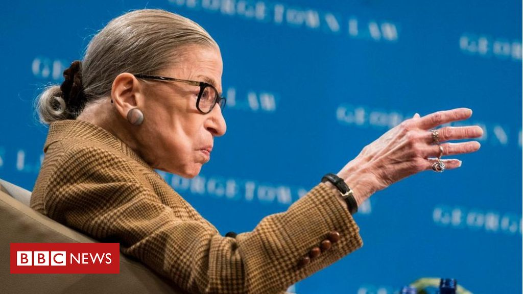 Photo of Ruth Bader Ginsburg: US Supreme Court Justice returns to work from hospital bed