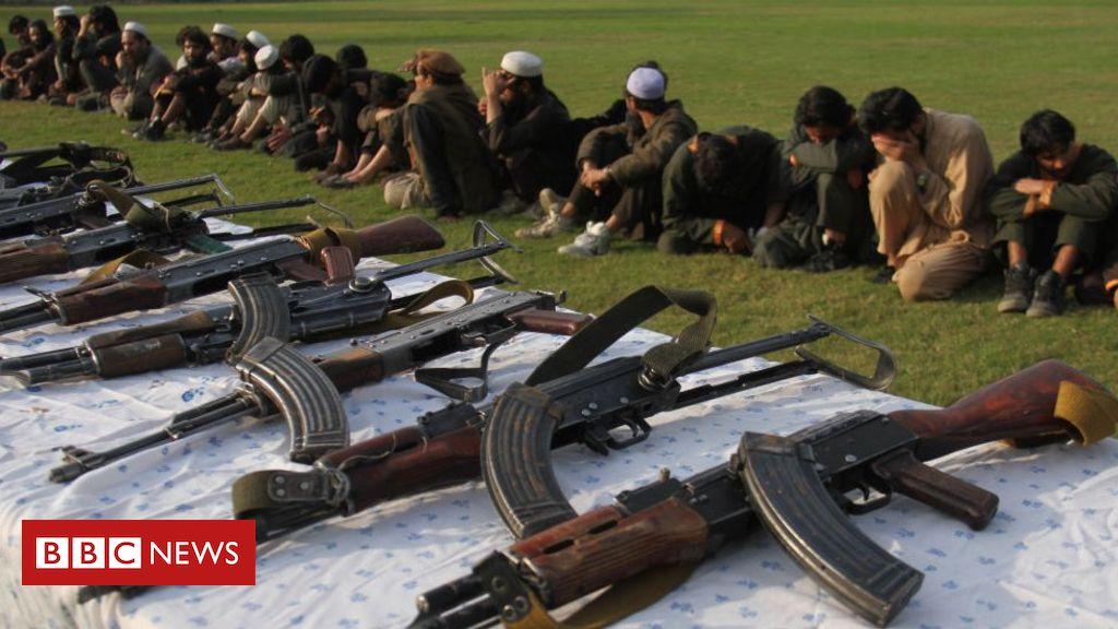 Photo of IS regional leader Sheikh Khorasani 'arrested in Afghanistan'