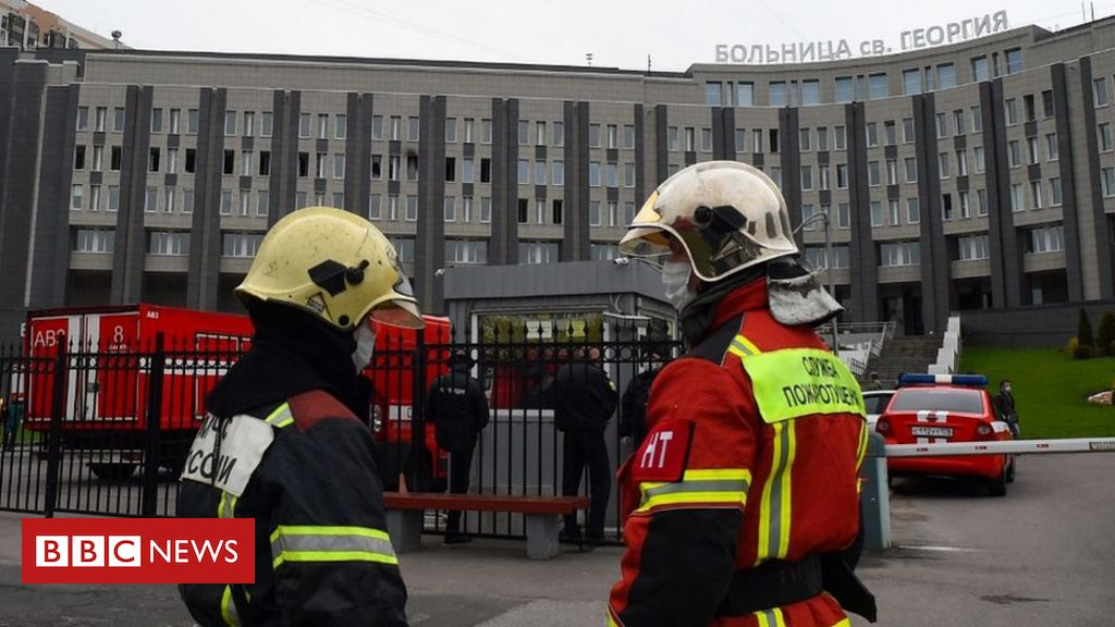 Photo of Five Covid-19 patients die in Russia hospital fire