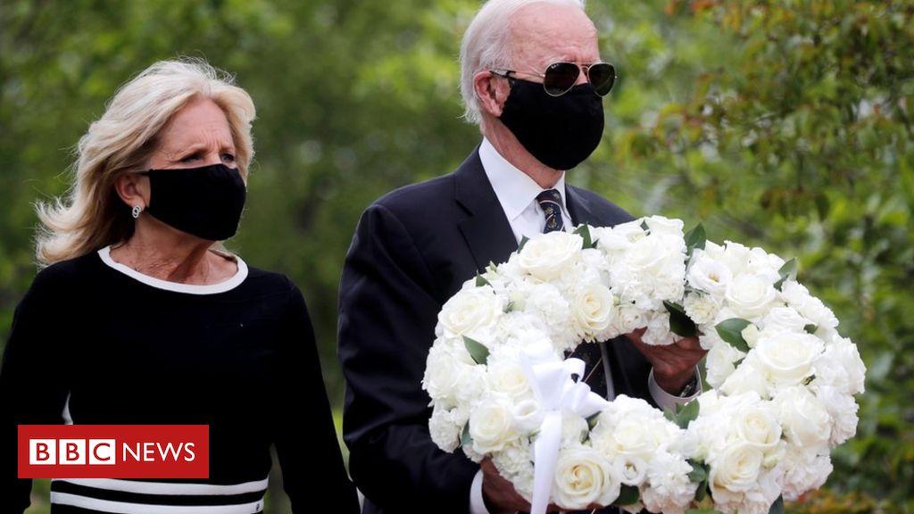 Photo of Coronavirus: Joe Biden emerges from quarantine on Memorial Day