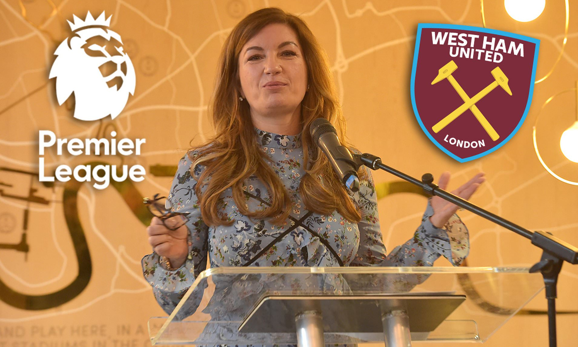Photo of West Ham chief Karren Brady raises Premier League fears after clubs agree June return