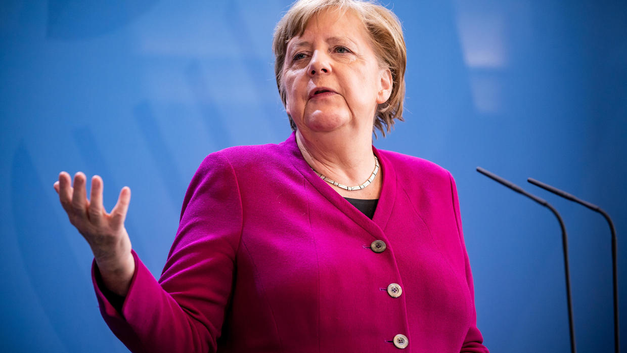 Photo of Merkel says Germany's re-opening will have 'emergency brake' in case Covid-19 spikes