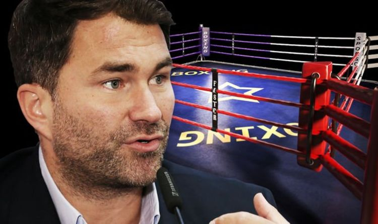 Photo of Anthony Joshua promoter Eddie Hearn has £1m plan to stage fights