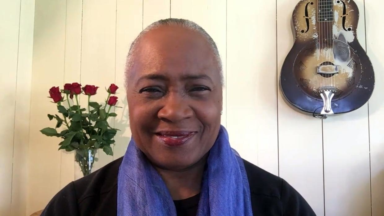 Photo of Barbara Hendricks on sheltering in place: 'This is how refugees feel all the time'