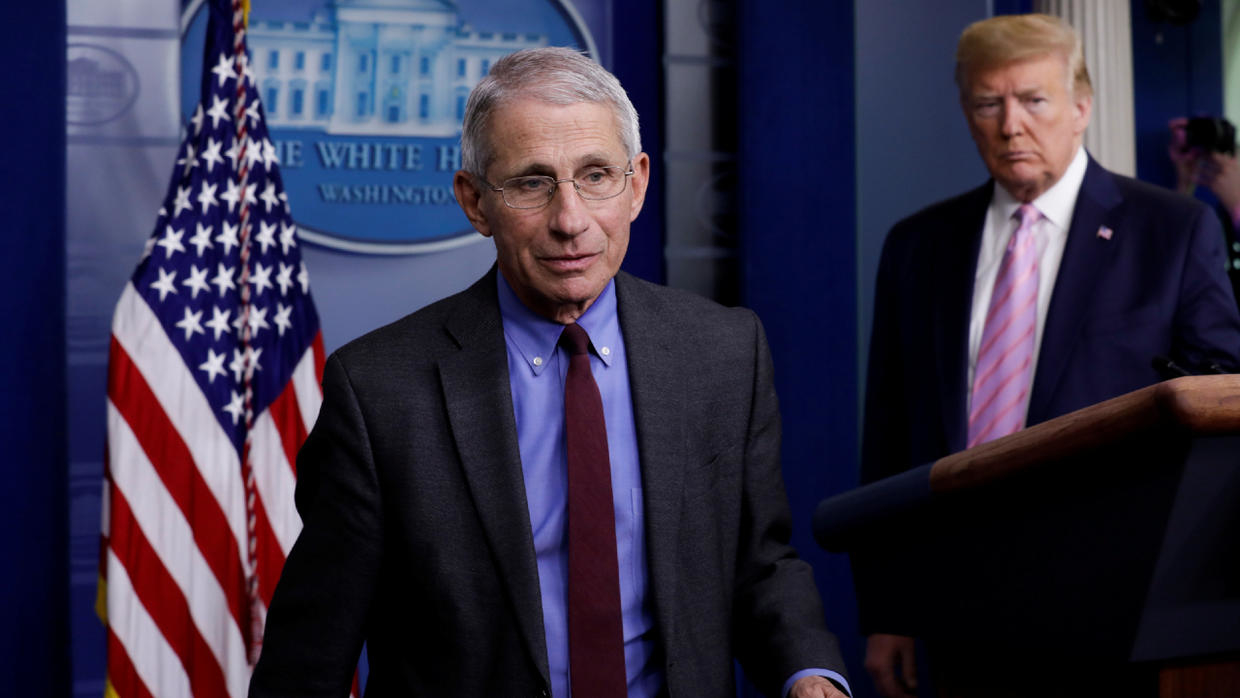 Photo of White House blocks top virus expert Fauci from testifying to Congress on govt Covid-19 response