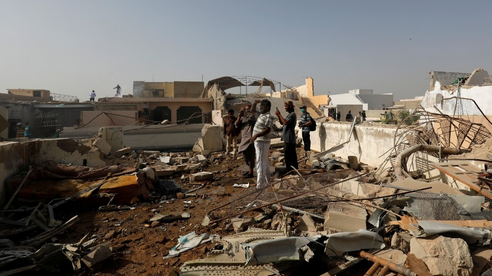 Photo of Dozens dead in Pakistan as PIA plane plunges into Karachi houses