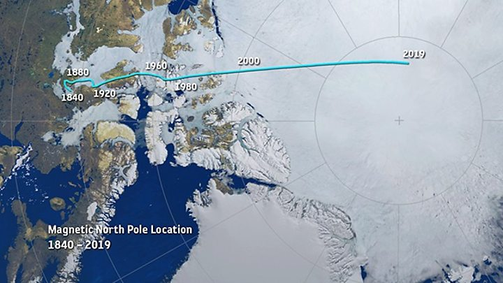 Photo of Scientists explain magnetic pole's wanderings