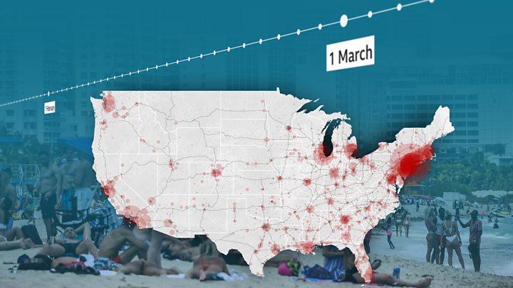 Photo of Coronavirus deaths in US top 100,0000