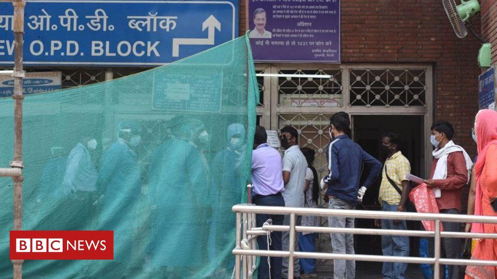 Photo of India coronavirus: Patients stranded as Delhi struggles with Covid