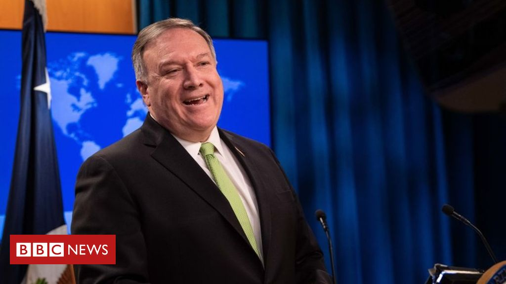 Photo of Mike Pompeo criticises HSBC for backing Hong Kong security law
