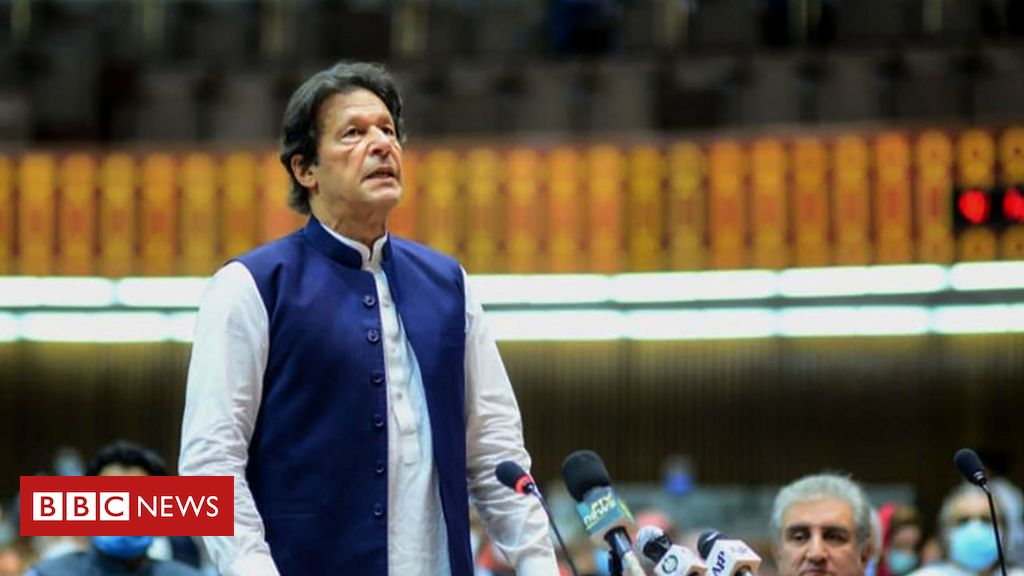 Photo of Imran Khan criticised after calling Osama Bin Laden a 'martyr'