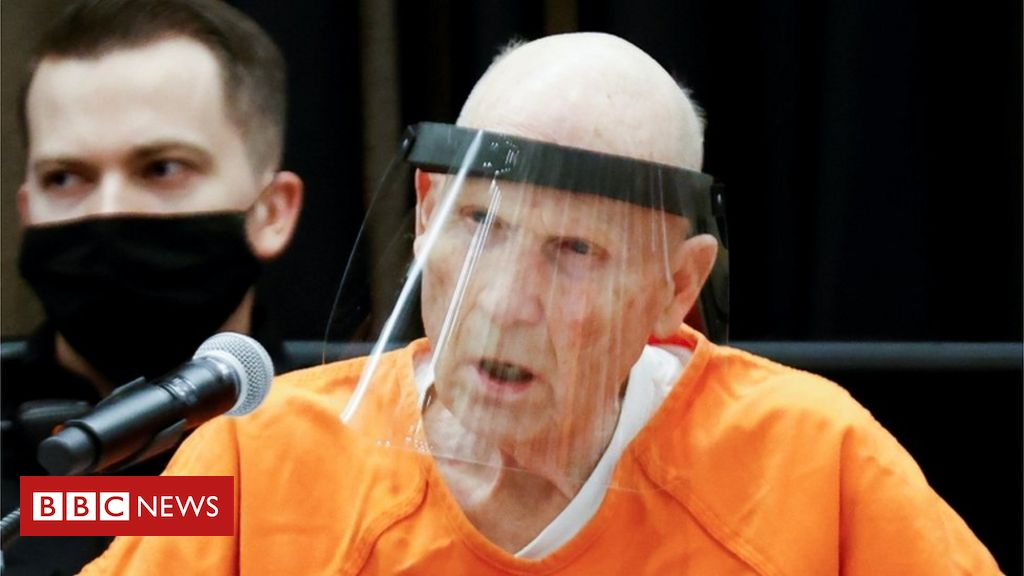 Photo of Golden State Killer pleads guilty to 13 murders