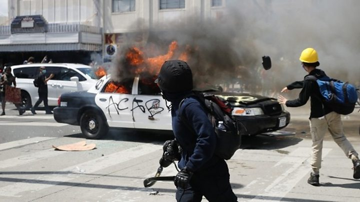 Photo of George Floyd death: Violence erupts on sixth day of protests