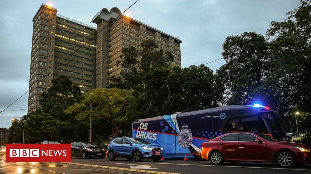 Photo of Coronavirus Australia: Melbourne locks down tower blocks as cases rise