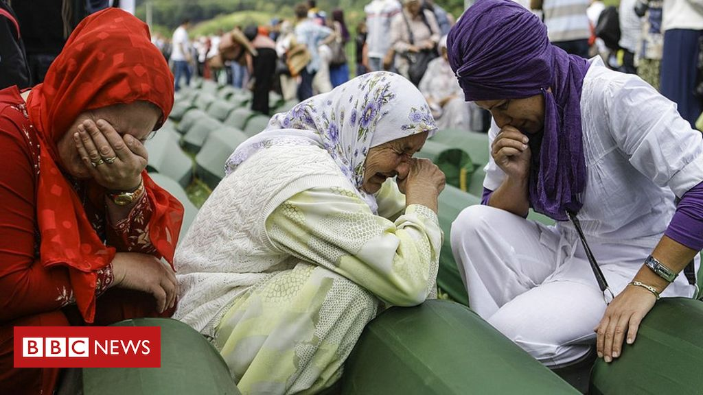 Photo of Bosnia's Srebrenica massacre 25 years on – in pictures