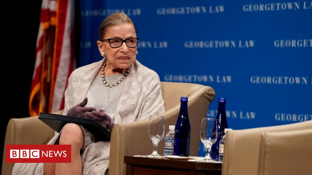 Photo of Ruth Bader Ginsburg: Supreme court justice has cancer again