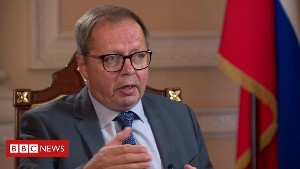 Photo of Russia's UK ambassador rejects coronavirus vaccine hacking allegations