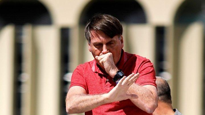 Photo of Coronavirus: Brazil's Bolsonaro waters down law requiring face masks