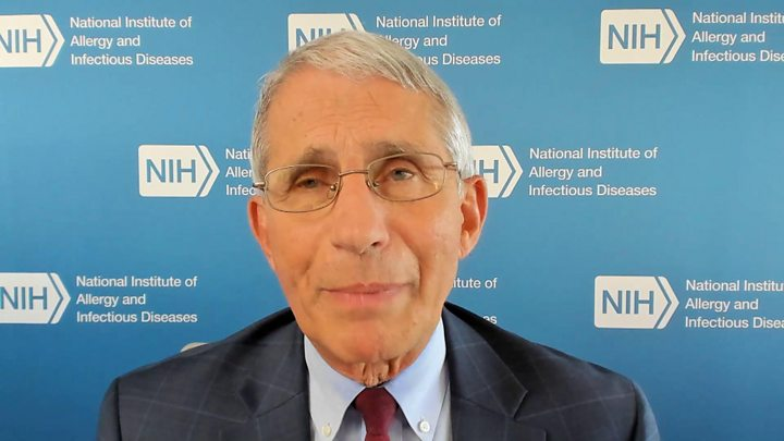 Photo of Coronavirus: Trumps signals 'not helpful', says Fauci