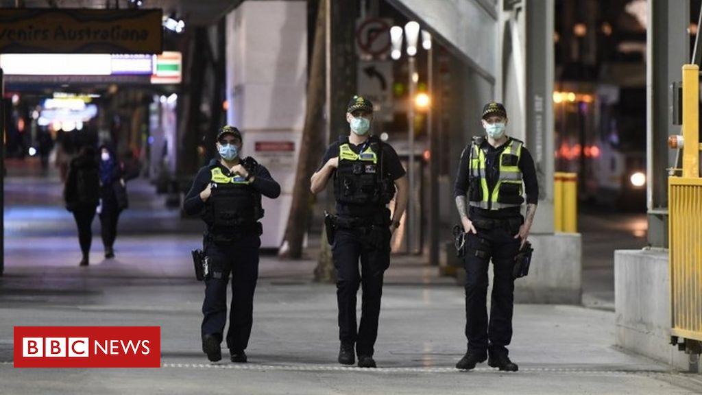 Photo of Melbourne police see violent lockdown resistance