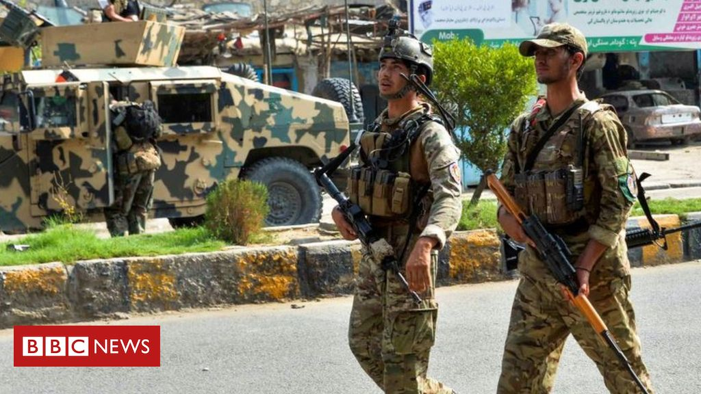 Photo of Islamic State group claims deadly attack on Afghanistan prison