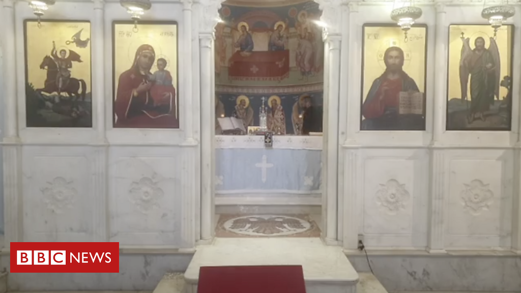 Photo of Footage from a church mid-explosion brings hope to Beirutis