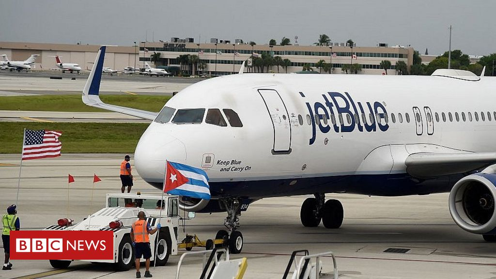Photo of US suspends private charter flights to Cuba