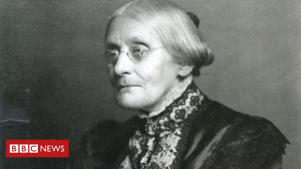 Photo of Trump to pardon women's voting pioneer Susan B Anthony