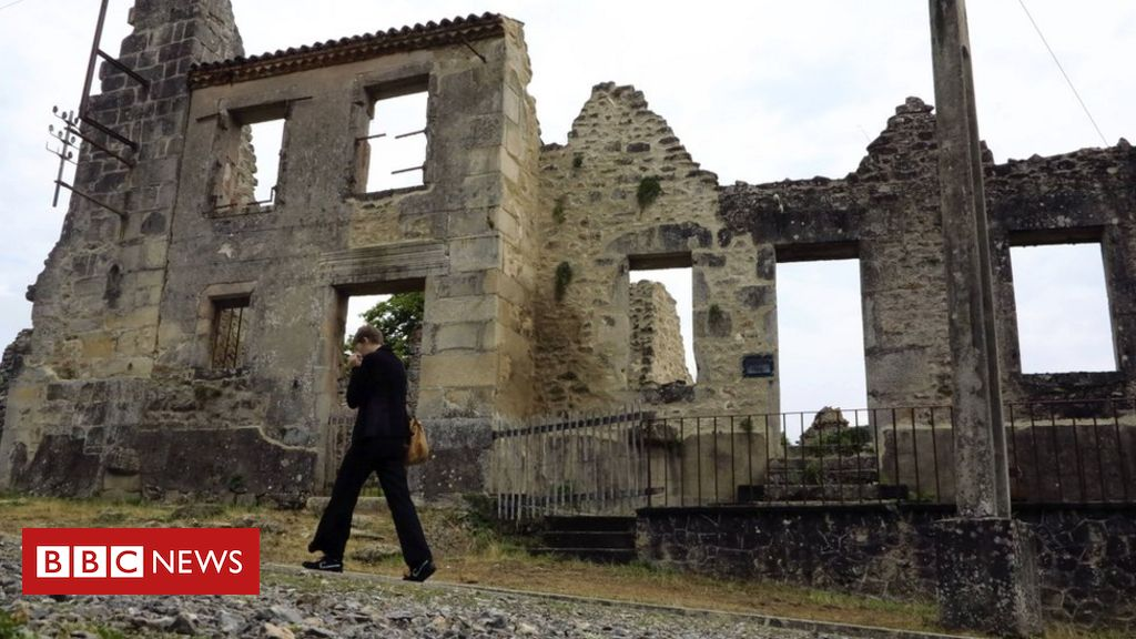 Photo of Oradour-sur-Glane: Uproar after France Nazi massacre site vandalised