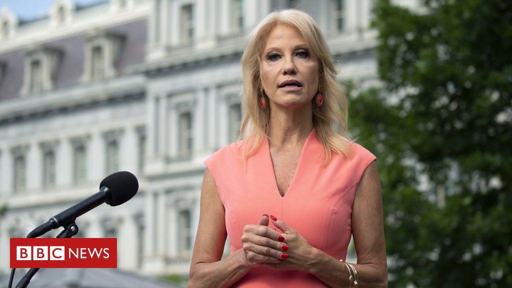 Photo of Kellyanne Conway resigns as senior White House adviser