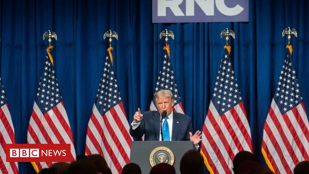 Photo of RNC 2020: Trump warns Republican convention of rigged election
