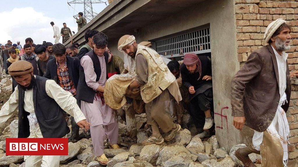 Photo of Afghanistan: Deadly flash floods kill dozens, damage homes