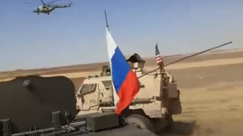 Photo of Syria war: American troops hurt as Russian and US military vehicles collide