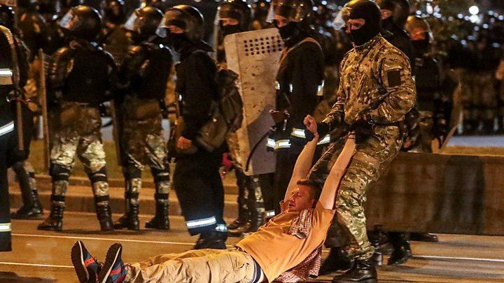 Photo of Belarus election: Opposition disputes Lukashenko landslide win
