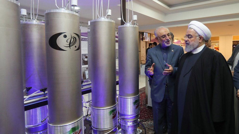 Photo of Iran's enriched uranium stockpile '10 times limit'
