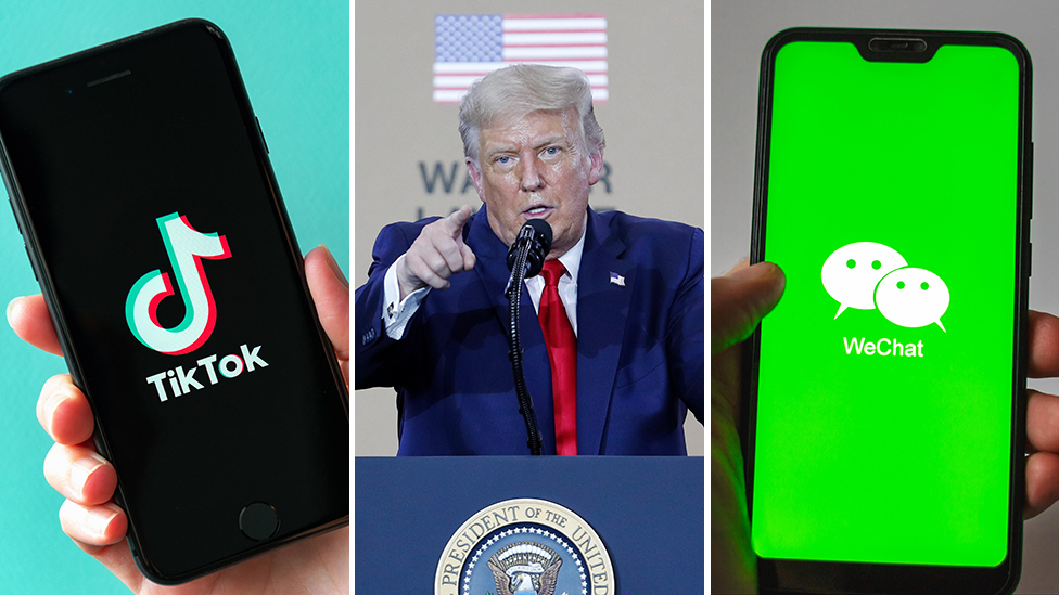 Photo of TikTok and WeChat: US to ban app downloads in 48 hours