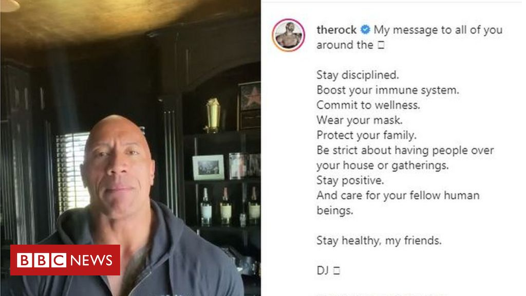 Photo of Dwayne 'The Rock' Johnson: Actor and family had Covid-19