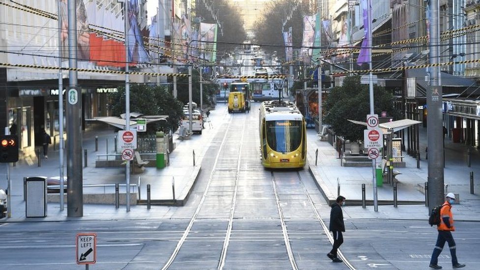 Photo of Coronavirus: Melbourne lockdown extended by two weeks