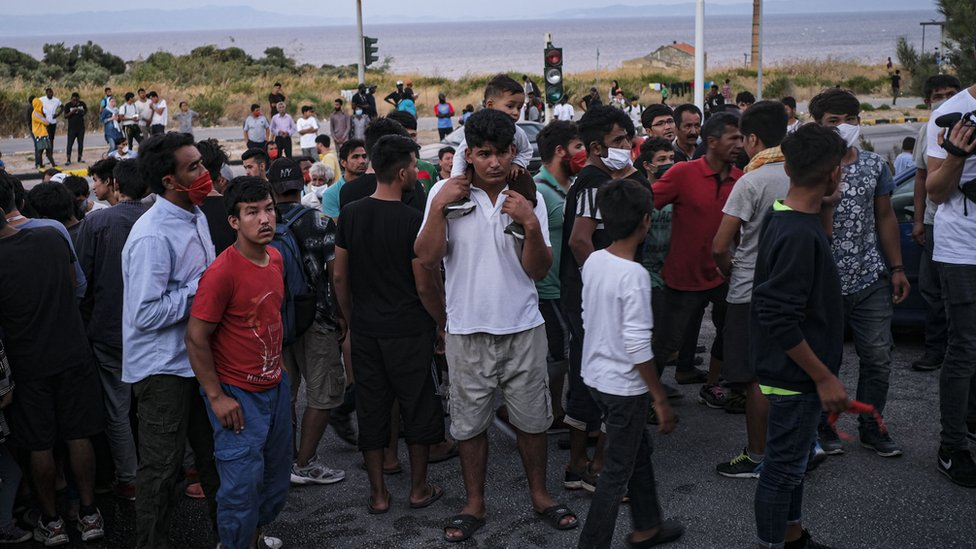 Photo of Moria migrants: European countries agree to take minors after fire