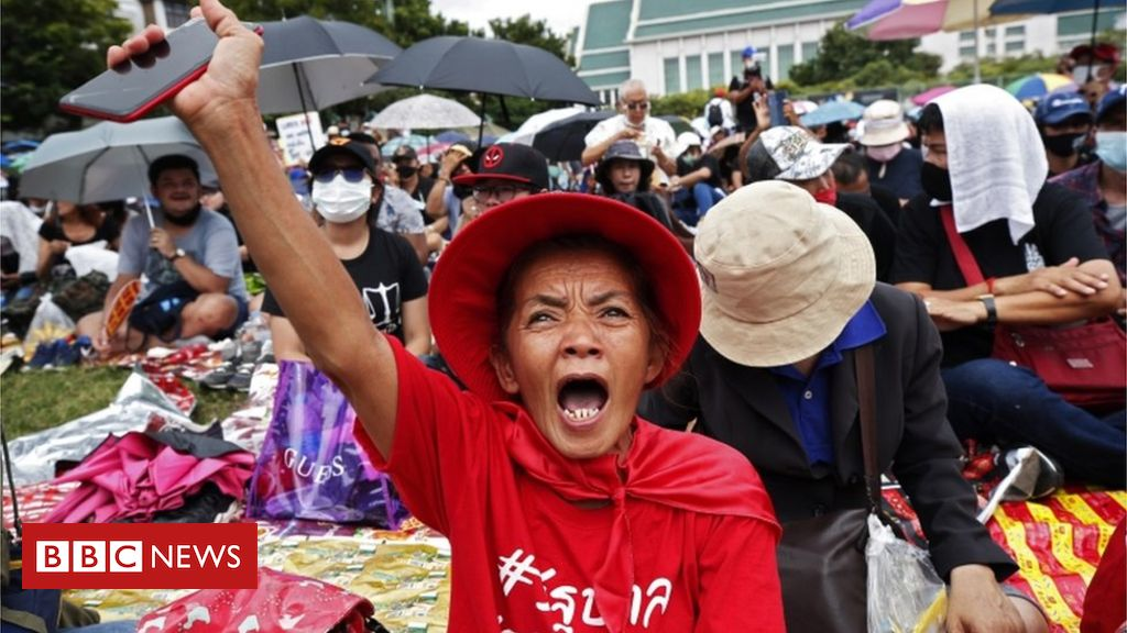 Photo of Thailand protests: Thousands gather for mass anti-government rally