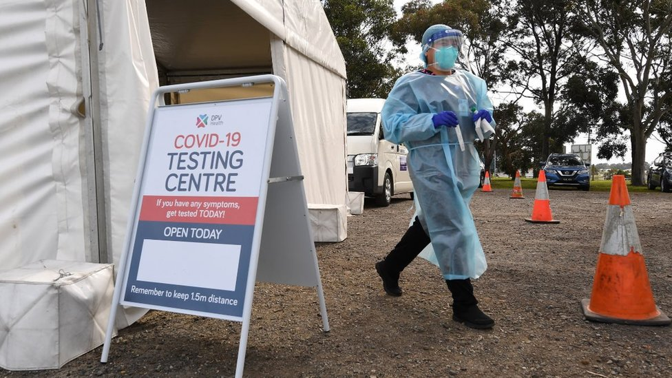 Photo of Australia coronavirus cases 'set to be lowest in months'