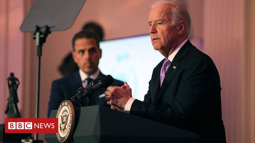Photo of Hunter Biden: Republicans release report on Joe Biden's son