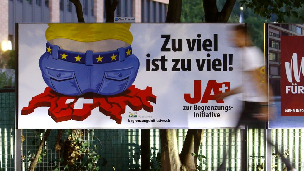 Photo of Switzerland gets ready to vote on ending free movement with EU