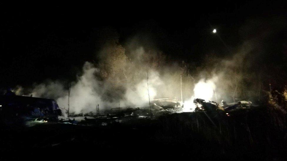 Photo of Ukraine military plane crash: Cadets among at least 22 people killed